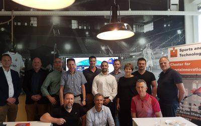 Sports and Technology krijgt bezoek van het Australian Sports Technologies network