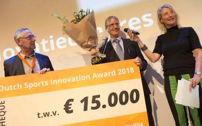 OpenRTLS winnaar 10e Dutch Sports Innovation Award 2018