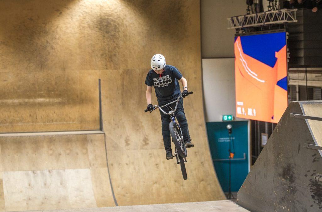 De eerste Demo van het Sports Motion Capture van het Urban Sports Performance Centre