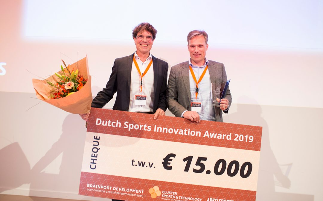 TrueKinetix winnaar 11e Dutch Sports Innovation Award 2019