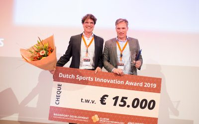TrueKinetix winnaar 11e Dutch Sports Innovation Award 2019