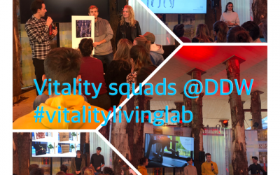 Presentatie innovaties voor vitaliteit op Dutch Design Week