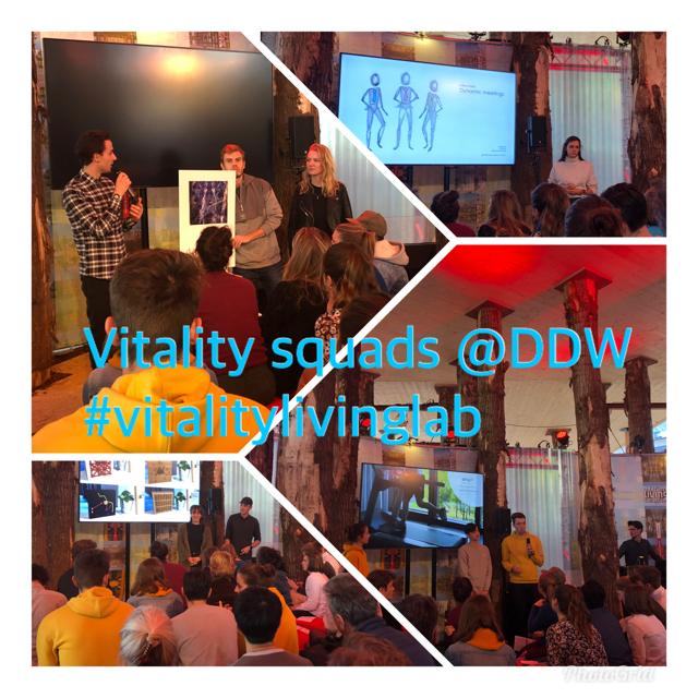 Presentatie innovaties voor vitaliteit op Dutch Design Week