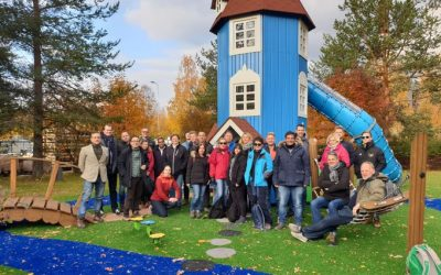 Bezoek aan Rovaniemi, Lapland in kader van Inno4sports