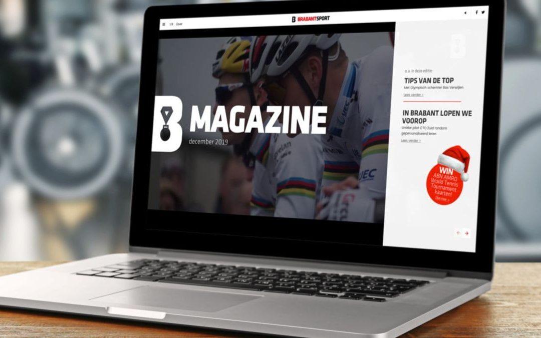 Nieuwe magazine BrabantSport is uit!