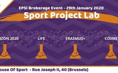 Europese middelen voor innovatie voor sport en vitaliteit