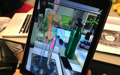 Bedrijf in the spotlight: Een virtuele reis door het menselijk lichaam