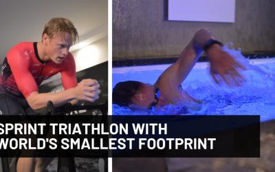 Finalisten Dutch Sports Innovation Award organiseren eerste triatlon op minder dan 50m2