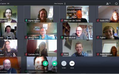 Inno4Sport: Een vruchtbare e-meeting helpt partners met de actieplannen