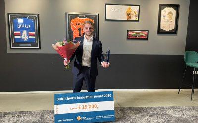 Sports-f(x) winnaar 12e Dutch Sports Innovation Award 2020