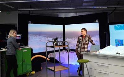 Cluster Sports & Technology online op bezoek bij Lapland