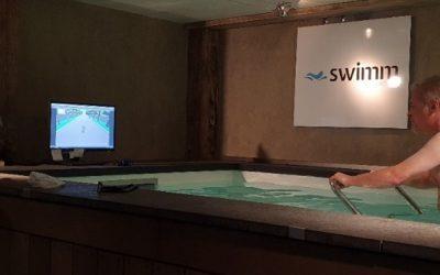 Maarten van der Weijden gebruikt 'Swimm' in thuis triatlon tegen kanker