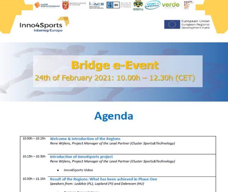 Inno4sports Bridge e-Event