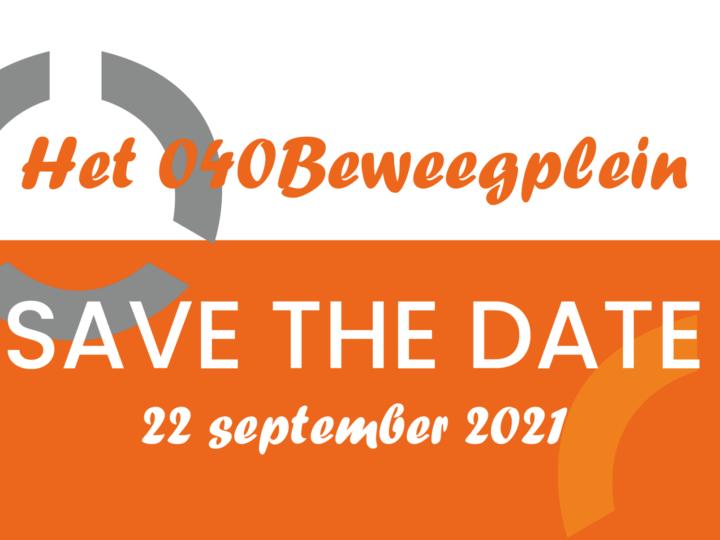 Save the date! 040Beweegplein